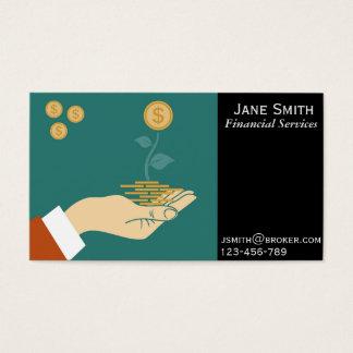 De financiële Diensten, Makelaar, Financiële Visitekaartjes