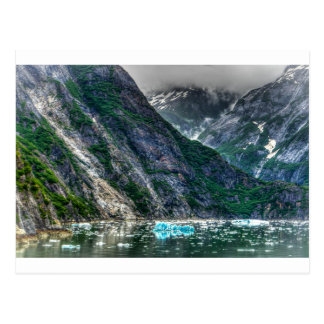 De Fjord van het Wapen van Tracy in Alaska Briefkaart