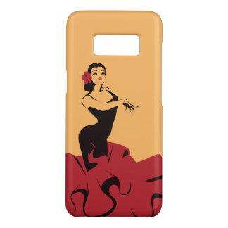 de flamenco danser in spectaculair stelt Case-Mate samsung galaxy s8 hoesje