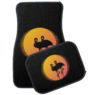 De Flamingo's van de zonsondergang Automat