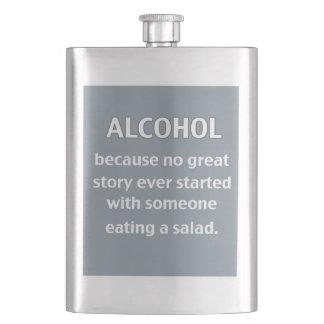 De Fles van de alcohol Heupfles