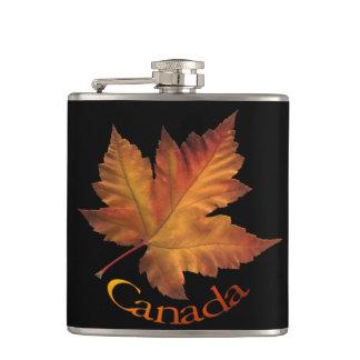 De Fles van de Drank van Canada van de Herfst van  Heupfles