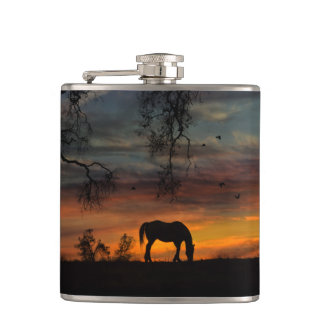 De Fles van de Drank van het paard Heupfles
