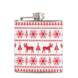 De Fles van de Sweater van Kerstmis Heupfles