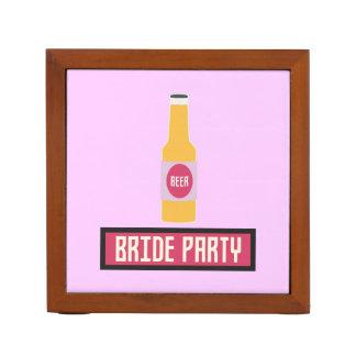 De Fles van het Bier van de Partij van de bruid Pennenhouder