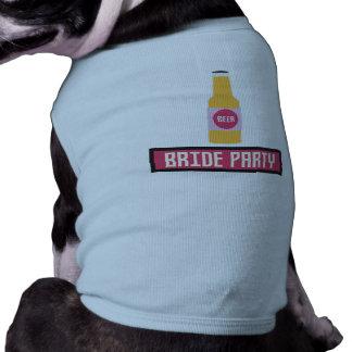 De Fles van het Bier van de Partij van de bruid Shirt
