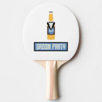 De Fles van het Bier van de Partij van de Tafeltennis Bat