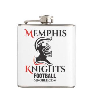 De Fles van het Logo van de Ridders van Memphis Heupfles