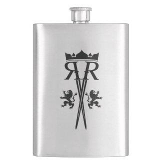 De Fles van het Logo van rr Heupfles