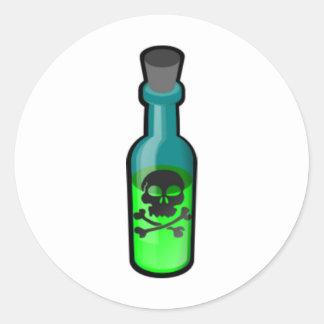 De Fles van het vergift Stickers