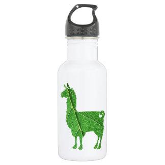 De Fles van het Water van de Lama van het blad