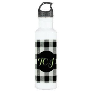 De Fles van het Water van het monogram