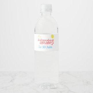 De Fles van het Water van RelovingCongo Waterfles Etiket