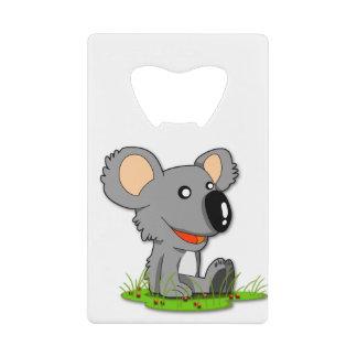 De Flesopener van de koala Creditkaart Flessenopener