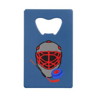 De Flesopener van het hockey - De Gunsten van de Creditkaart Flessenopener
