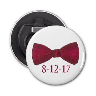 De Flesopener van het Huwelijk van de Bruidegom Button Flesopener