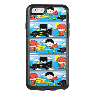 De Flits, de Superman, en Batman die van Chibi OtterBox iPhone 6/6s Hoesje