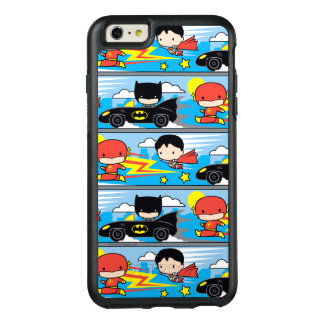 De Flits, de Superman, en Batman die van Chibi OtterBox iPhone 6/6s Plus Hoesje