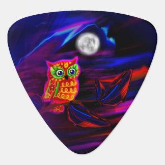 De Flits van de Onweersbui van de Uil van het neon Plectrum