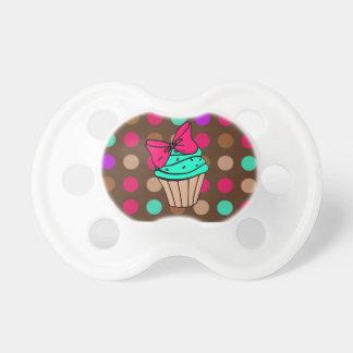 De Fopspeen van Cupcake van Polkadot
