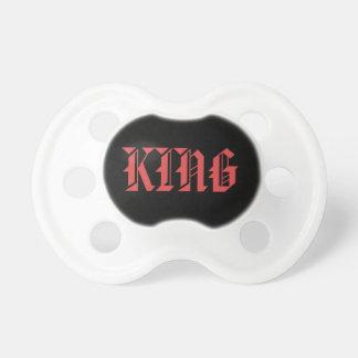 De Fopspeen van de Koning van het baby
