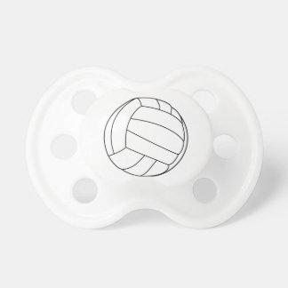 De fopspeen van het volleyball