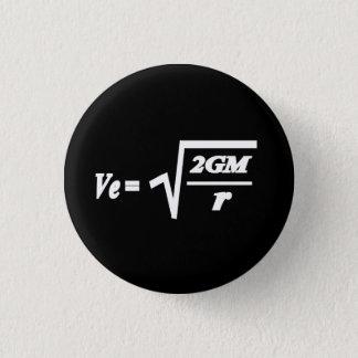 De formule van de Snelheid van de vlucht Ronde Button 3,2 Cm