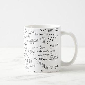 De Formules en de Aantallen van de wiskunde Koffiemok