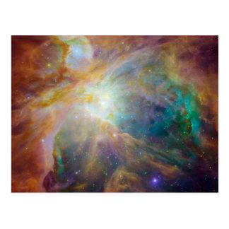 De Foto van de Astronomie van de Nevel van Orion Briefkaart