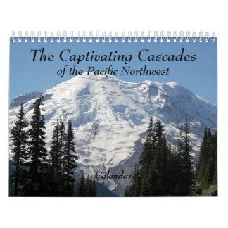 De foto van de Cascades van de Fascinatie Kalender