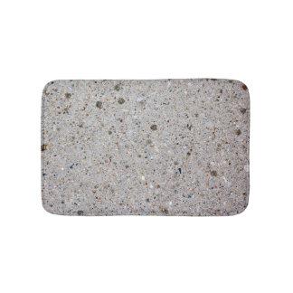 De Foto van de concrete Oppervlakte Badmat