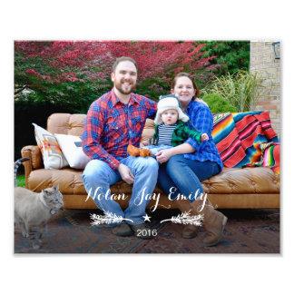 De Foto van de familie met de Tak & de Ster van de