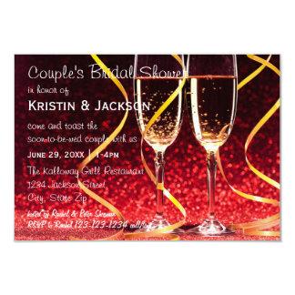 De Foto van de Glazen van Champagne - 3x5 Kaart
