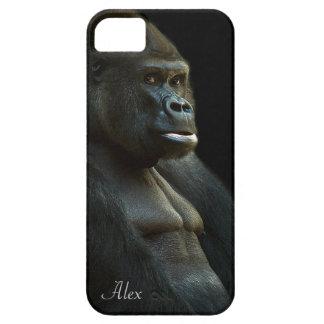 De Foto van de gorilla Barely There iPhone 5 Hoesje