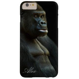 De Foto van de gorilla Barely There iPhone 6 Plus Hoesje