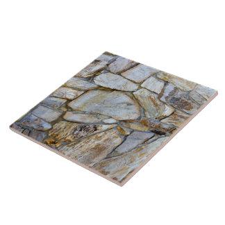 De Foto van de Muur van de rots Keramisch Tegeltje