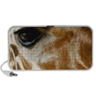 De Foto van de Natuur van de Wilde dieren van het  iPod Luidspreker