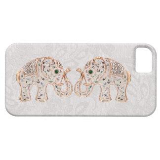 De Foto van de Olifanten van het juweel & iPhone 5 Barely There iPhone 5 Hoesje