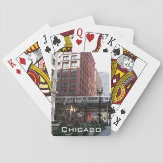 De Foto van de Reis van Chicago Pokerkaarten