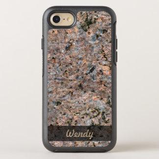 De Foto van de Textuur van de Rots van de geologie OtterBox Symmetry iPhone 8/7 Hoesje