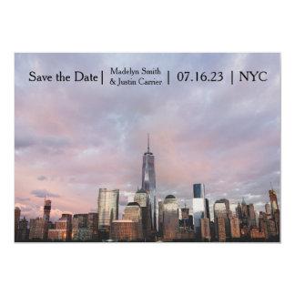 De Foto van de Toren van de Vrijheid NYC - sparen Kaart