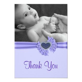 De Foto van het Baby van Purple Heart dankt u Kaart
