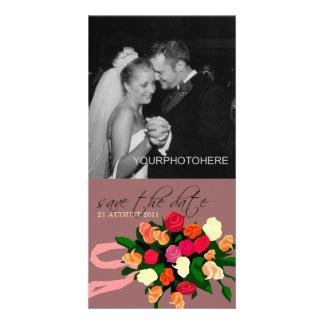De Foto van het Boeket van het huwelijk bewaart de Foto Kaart