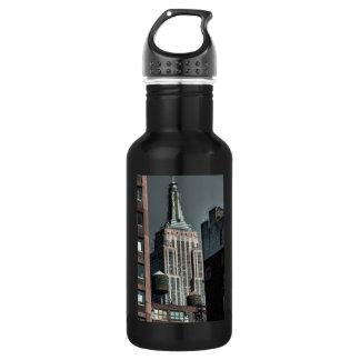 De Foto van het Empire State Building NYC Waterfles