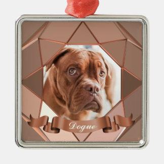 De Foto van het huisdier uploadt het Ornament van