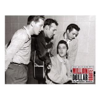 De Foto van het Kwartet van het miljoen dollar Briefkaart