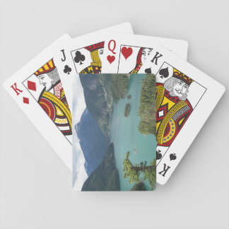 De Foto van het Meer van Diablo van de Cascades Speelkaarten