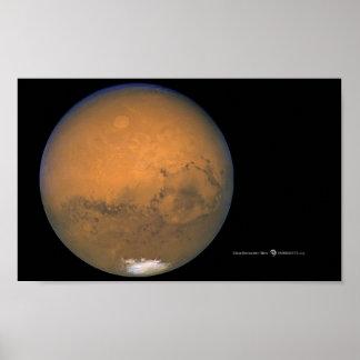 De Foto van Hubble van het Poster van Mars
