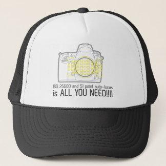 De fotograaf Nikon D700 is allen u wenst Trucker Pet