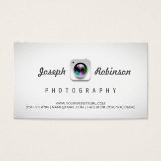 De Fotografie van de fotograaf met Uw Beste Foto's Visitekaartjes